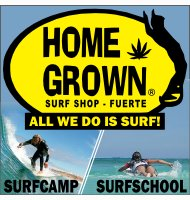 Homegrown Surfschool, surfshop and surfcamp