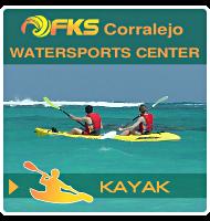 Fuerteventura Kite School - kayak - Gmap