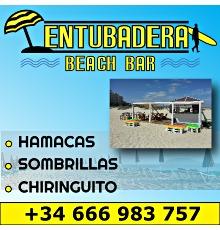 Entubadera beach bar