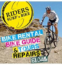 Riders bike rentals Fuerteventura