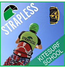 Strapless Surfschool - Gmap Kite