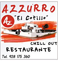 restaurante chill out Azzuro El Cotillo