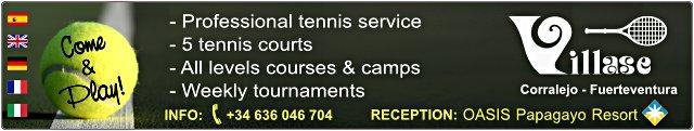 Villase Tennis - webcam Flagbeach